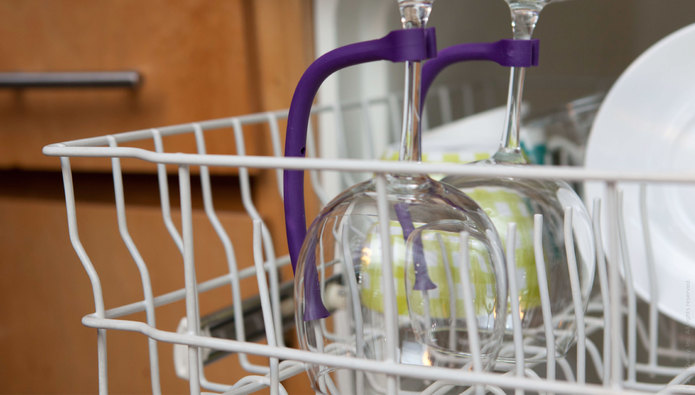 Tether Stemware Saver | Quirky Products